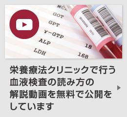 栄養療法クリニックで行う血液検査の読み方の解説動画を無料で公開